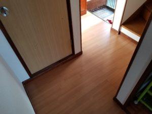 内装床のリフォーム